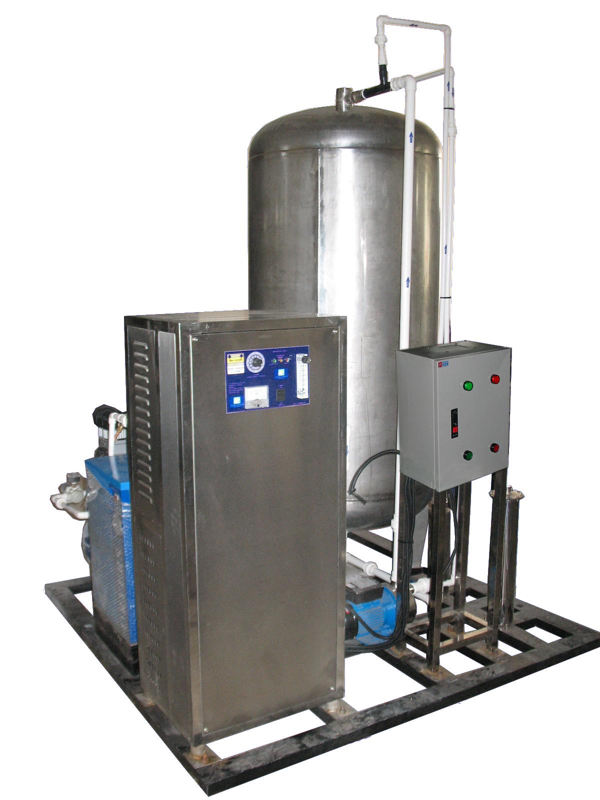 四川高浓度臭氧水混合罐系统